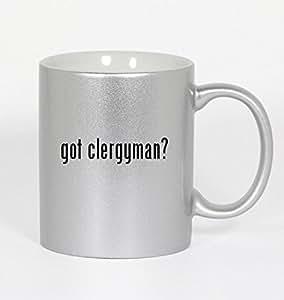 got clergyman? - 11oz Silver Coffee Mug