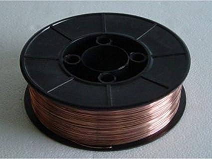MIG Welding wire 0,8mm 5KG Roll EN 440 G3SI1: Amazon.co.uk ...
