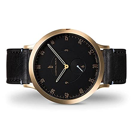Lilienthal Berlin Watch – Made in Germany – Designed in Berlin. Model L1 with Stainless Steel Case