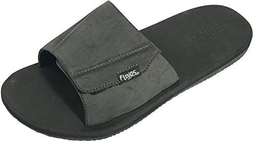 Flojos Hommes Duke Flip Flop Noir