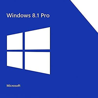 Microsoft Windows 8.1 Professional 64 bit OEM DVD software with COA and Activation Keycode