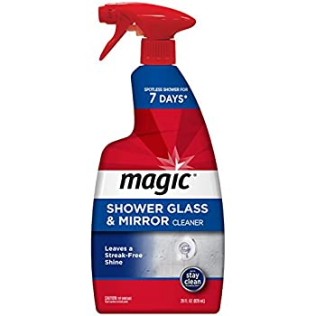 Amazon Com Magic Shower Glass Amp Mirror Cleaner Trigger