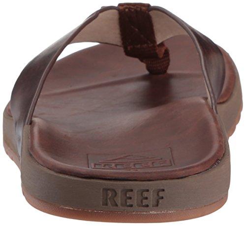 Reef Contoured Voyage Le, Infradito Uomo Marrone (Bronze Brown Bzb)