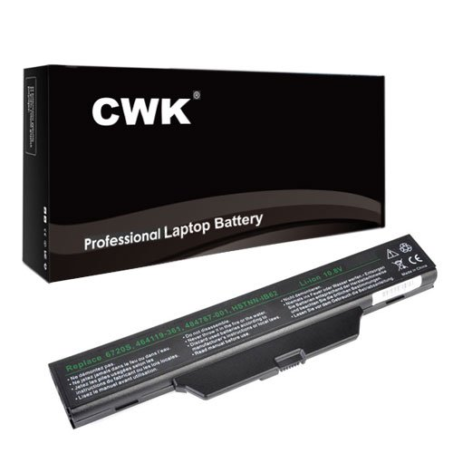 CWK New Replacement Laptop Notebook Battery for Compaq 510 511 610 HP Compaq 6720 6820 6830 PC HP Compaq 550 610 615 HSTNN-XB51 HSTNN-XB52 6720s 6730s 6735s 6820s 6830s 550 510 511 610 HSTNN-IB51 GJ655AA HSTNN-IB62 HSTNN-IB51 HSTNN-IB52 HP 550 Compaq 6735s 6820s HSTNN-LB51 Hp Compaq 6720s 6730s 6735s 451086-361 HP/Compaq 6720 6820s 6730s 6735s 6820 6830 6720 HSTNN-IB62 HSTNN-LB51 HSTNN-OB51 HSTNN-OB51T 456864-001 456865-001 491278-001 GJ655AA GJ655AA#ABH
