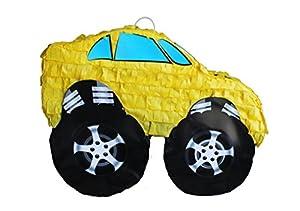 Yellow Muscle Car Pinata
