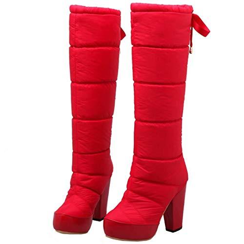 Classic Women's Women's AIYOUMEI Red Women's Boot Red AIYOUMEI Boot Red AIYOUMEI AIYOUMEI Boot Classic Classic PA7qwW1