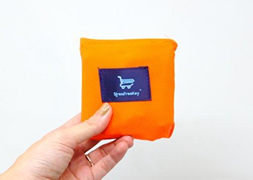 Cowboy Sleep Mat (Stress Free Key Pocket Blanket - 4 Different Colors Durable Fabric (Orange))