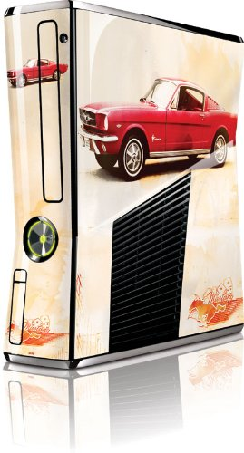 (Skinit 1965 Red Mustang with Dice Vinyl Skin for Microsoft Xbox 360 Slim (2010))