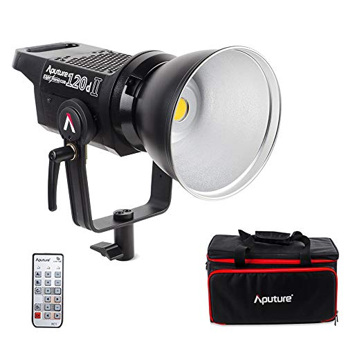 Aputure Light Storm LS C120D Mark 2 120D II Led Continuous Output Lighting Ultimate Upgrade 30,000 Lux @0.5m Supports DMX 5 CRI96+ TLCI97+ Pre-Programmed Lighting Effects (V-Mount) by Aputure (Image #8)