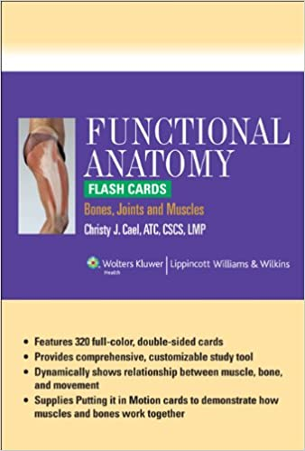 Buy Functional Anatomy Flash Cards Bones Joints And Muscles Book