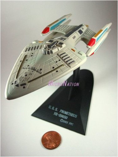 U.S.S. Prometheus NX-59650 Furuta Star Trek Federation Ships & Alien Ships Collection 2 Miniature Display Model