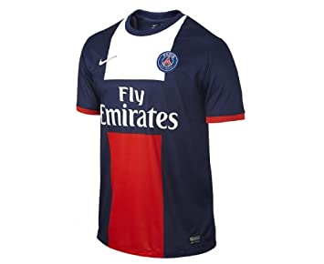 Oferta Licitación Camiseta de Fútbol Paris Saint Germain PSG Nike Home %2F14 2013 Beckham 32