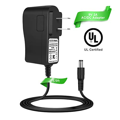 LANMU Power Cord for Schwinn Exercise Bike,9V Power Supply Adapter for Schwinn 430 420 270 240 230 220 130 A10 A20 A40 Bike Exercise Elliptical Recumbent Upright Trainer.