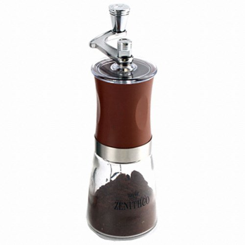 ZENITHCO COFFEE GRINDER MG-731 / BROWN / MANUAL GRINDER