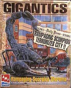 Gigantics Rampaging Scorpion Diorama - Diorama Part