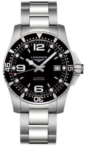 Longines Sport Collection Hydroconquest Mens Watch L3.641.4.56.6 (Band Longines Watch Wrist)