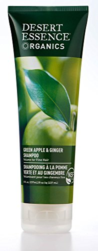 Desert Essence Organics Green Apple & Ginger Shampoo - 8 fl oz - Pack of 2