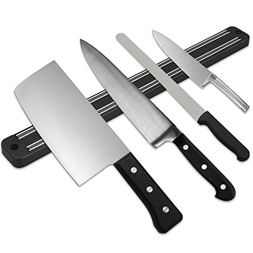 "Gotobuy 13"" Wall Mount Magnetic Knife Scissor Storage Holder"