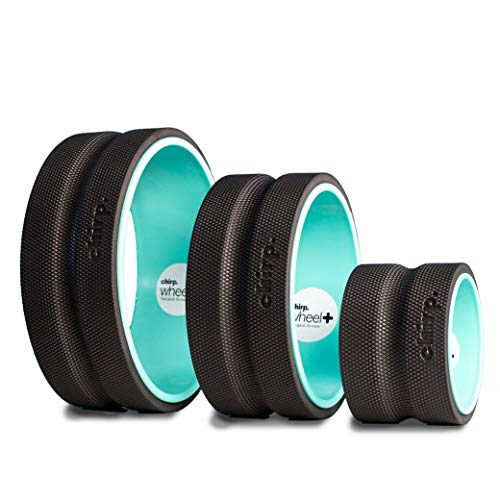 Plexus Chirp 3 Wheel+ Pack for Back Pain, Stretches and Strengthens Core Muscles, Relieves Strain to Muscles and Ligaments, helps Prevent Herniated/Bulging Discs, Arthritis, and Osteoporosis.
