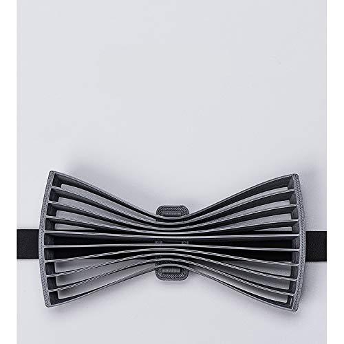 WATERMELON Elegante Impreso en 3D Corbata de Plata Exquisitos ...