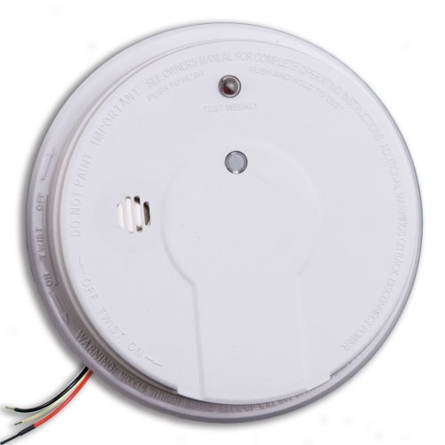 Kidde i12020 Basic Hardwire Smoke Alarm with Test Button - Kidde Hardwire Smoke Alarm