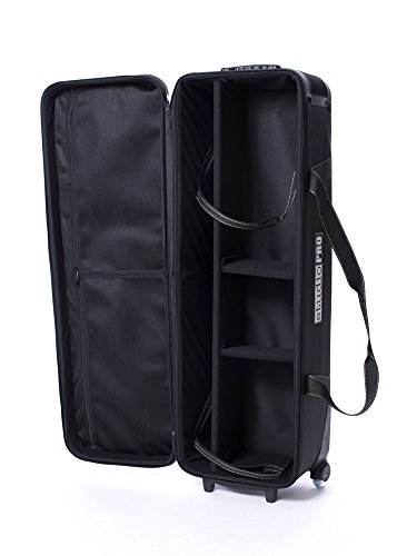 "41Ai k5QLOL - Fovitec - 1x Professional Photography & Video Lighting Equipment Roller Bag - [43"" x 13"" x 11""][EZ Glide Wheels][Durable Webbed Nylon][Fleece Lining]"