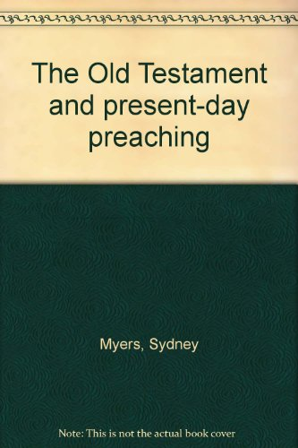 The Old Testament and present-day - Myers Sydney