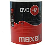 Maxell DVD-R 4.7GB 100 Pack - DVD+RW vírgenes (DVD-R, Eje)