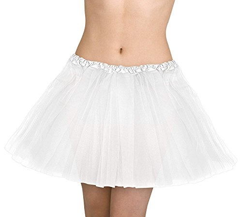 - OIG Brands White Tulle Skirt - Petticoat Skirts Tutu - Underskirt for Woman - Poodle Skirt