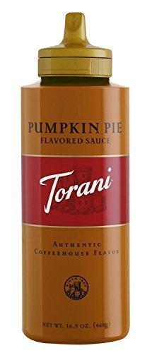Torani Pumpkin Pie Flavored Sauce, 16.5 Ounce(2Pack)