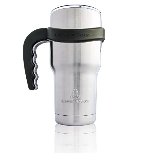 Handle Stainless Tumbler Thermos Finger