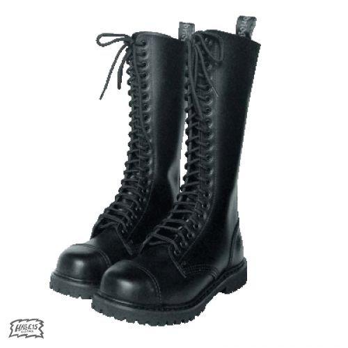 Laccio stivali, 20 fori (colore: Nero) 47, colore nero