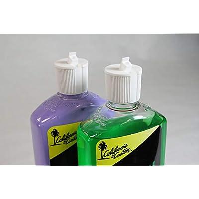 California Custom Products Purple Metal Polish/deoxidizer Combo: Automotive