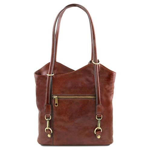 Convertible Leather À En Marron 98141497 Patty Tuscany Cuir Dos Sac xYZUTwqw