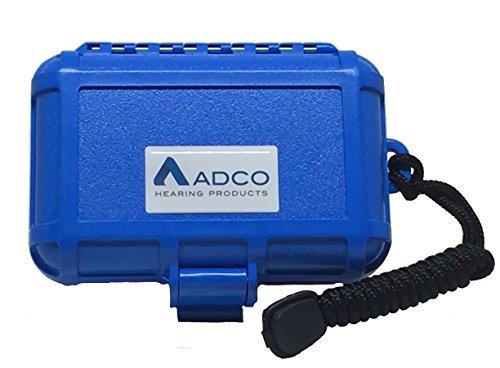 Waterproof Hearing Aid Case Blue