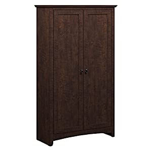 Buena Vista Tall Storage Cabinet with Doors