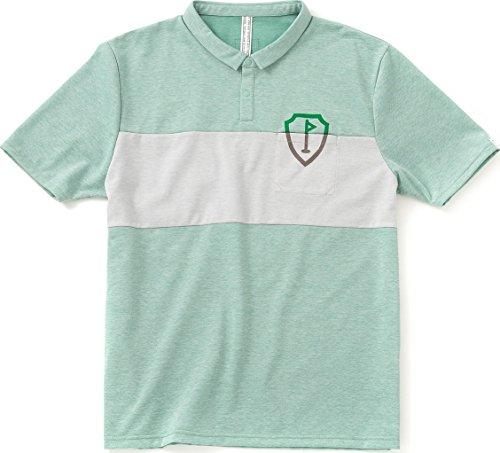 SHIELDS(シールズ) フットゴルフ シャツ 半袖 TREK & TURF カラーライン ポロシャツ 17-A-P04