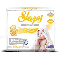 Sleepy Sensitive Islak Mendil, 3 X 50 Adet