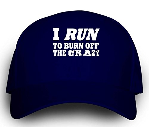 [I Run To Burn Off The Crazy Jogging - Cap] (Crazy Christmas Hats)