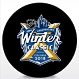 #7: 2018 WINTER CLASSIC PUCK 10TH ANNIVERSARY RANGERS VS. SABRES STANLEY CUP CHAMPIONS