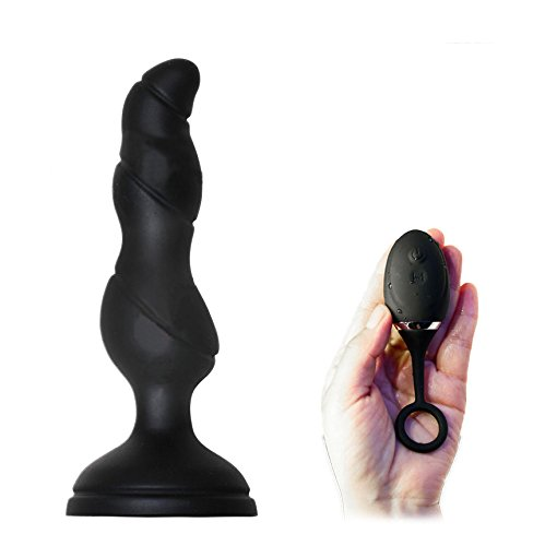 FMLOVE SORBO 12 Frequency Vibrating Prostate Massager Wireless Remote Control Anal Masturbation