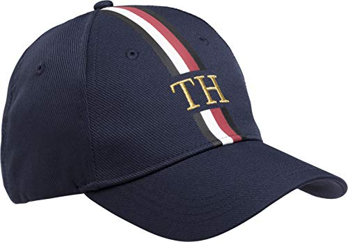 (Tommy Hilfiger Men's Icons Logo Cap Navy One Size )