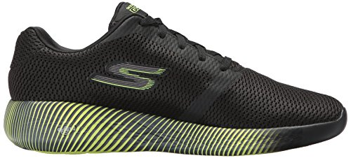 Skechers Performance Herren Go Run 600-Spectra Sneaker Schwarz / Lime