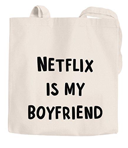 dc16b09f60f7c unisize Jutebeutel first love Serienjunkie Moonworks® Tragetasche  Baumwolltasche Boyfriend natur chillen Netflix my Stoffbeutel is ...