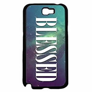 Blessed on Galaxy- TPU RUBBER SILICONE Phone Case Back Cover Samsung Galaxy Note II 2 N7100