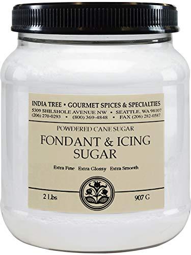 Fondant Sugar - India Tree Fondant & Icing Sugar, 2 lb (Pack of 2)