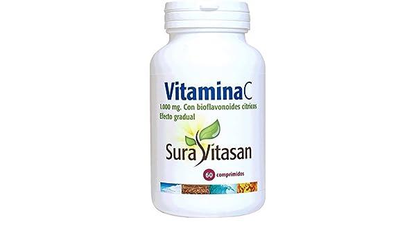 Amazon.com: Sura Vitasan Vitamin C 1000Mg. Gradual Effect 60Comp. by Sura Vitasan: Health & Personal Care