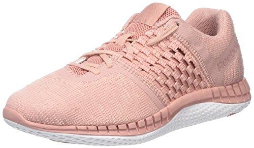 Run Print Pink Dist Rosa Reebok Porcelain Scarpe Donna Running Chalk qT5pdw7