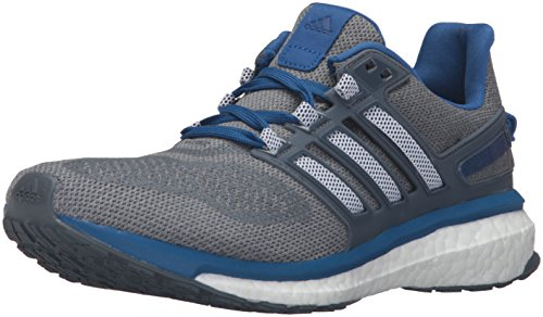 adidas Performance Men's Energy Boost 3 M Running ShoeMid Grey/Black/Equipment Blue11.5 M US
