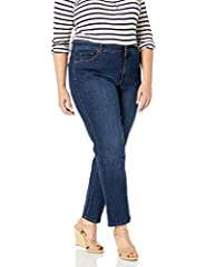 With over 22 million Amanda jeans sold you know this must be jean perfection. Tapered leg five pocket denim jean, that is contoured through hip and thigh and hits at natural waist line, for that comfort fit you've come to love and that fabri...